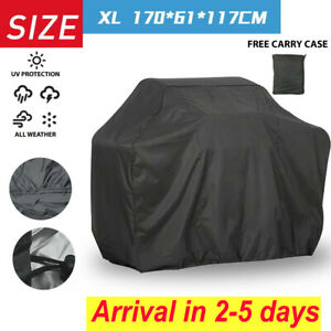 L-XXL BBQ Cover Heavy Duty Waterproof Rain Gas Barbeque Grill Garden Protector