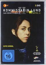 5 DVDs * KOMMISSARIN LUND - THE KILLING / DAS VERBRECHEN - STAFFEL 2 # NEU OVP