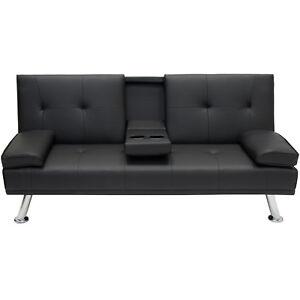 Superieur Best Choice Products SKY2878 Convertible Futon Sofa   Black