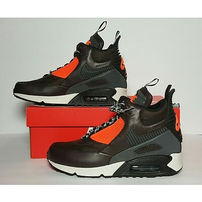 NIKE MEN'S AIR MAX 90 SNEAKERBOOT WINTER NEW/BOX MULTIPLE SIZES 684714 200