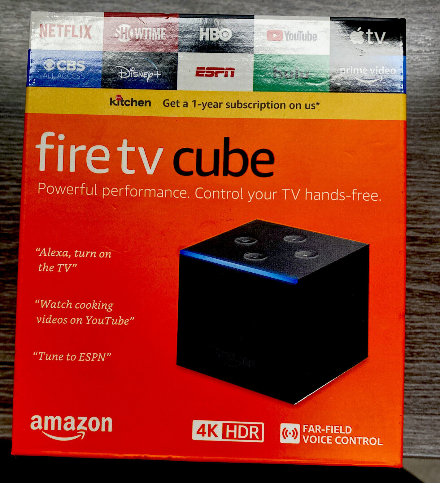 Amazon Fire TV Cube ~ 4K 2nd Gen Streaming Media Player ~ 16GB NEW LATEST 2019 16gb 2nd amazon cube fire gen media new player streaming