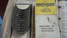 8310A CAP6 .010 Michigan engine bearings Rod Bearings. (CB960P) 6 PR.