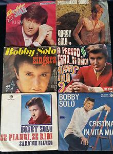 BOBBY-SOLO-LOTTO-6-DISCHI-45-GIRI