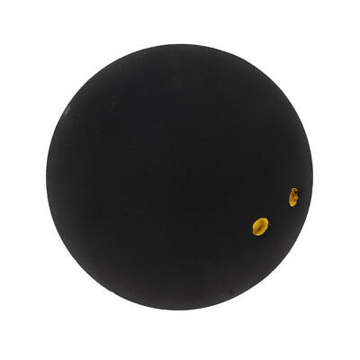 6 x Double Yellow Dots Squash Balls Generic Non-Branded High Quality Rubber