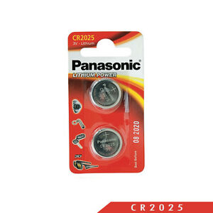 Panasonic-CR2025L-Specialist-Lithium-Coin-Battery-Pack-of-2-Long-Lasting-Power
