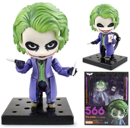 "BATMAN// THE JOKER VILLAIN´S EDITION 10 CM ANIME NENDOROID #566 WITH BOX 4/"""
