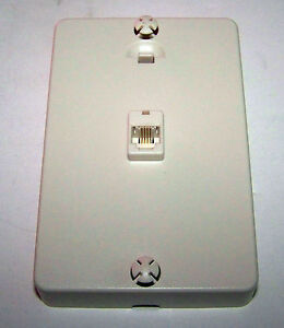 4000038 wall mount DSL U-Verse adapter noise Filter Pho