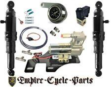 Harley Davidson Bagger Air Ride Kit w/ Pressure Gauge & Universal Bracket 94-19