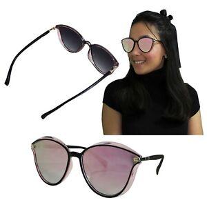 Mujer Vintage Sol Elegante De Gafas Dorado Rosa Pasta Fashion Moda yvn80OmNw