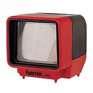 Visualizzatore-Di-Diapositive-Hama-per-35mm-montato-diapositive-BATTERIE-INCLUSE