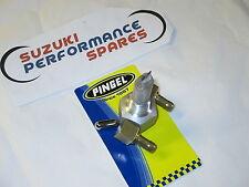 "Classic road race Pingel Hi Flow Fuel Tap. Dual Outlet. 3/8"" NPT male  fitting."