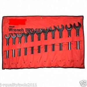 10 Pc Metric Large Big Jumbo Size Combination Tool Wrench