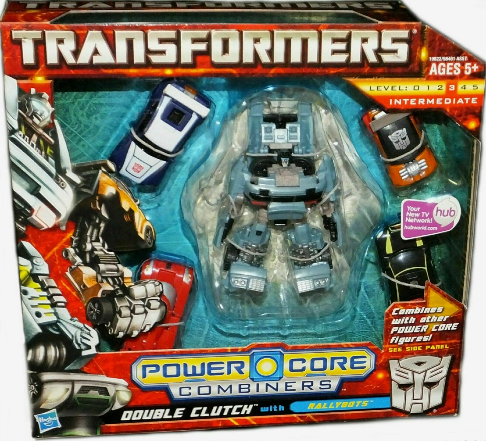 Transformers Power Core Combiners Double Clutch w Rallybots Factory Sealed New