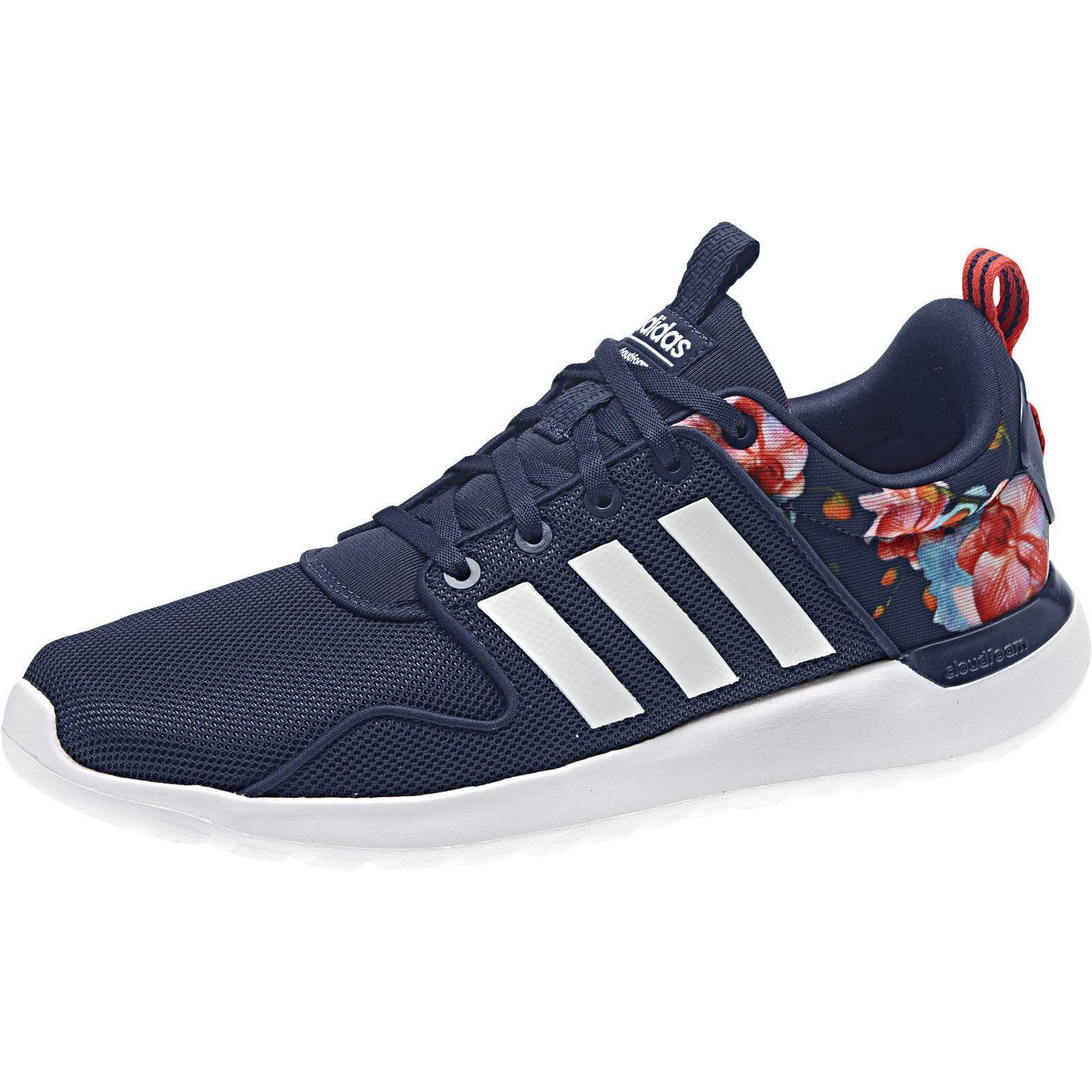 ADIDAS cloudfoam LITE RACER W Blue/White aw4037 NEO Sneaker Scarpe Sportive Scarpe classiche da uomo