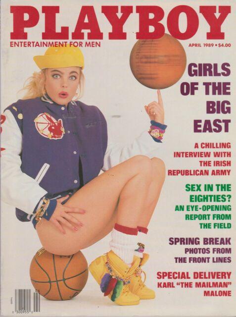 PLAYBOY APRIL 1989-A – JENNIFER LYN JACKSON – THE I.R.A. – GIRLS OF THE BIG EAST