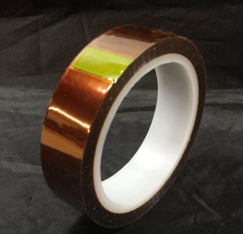 "1 Roll Intertape FM28 Polyimide Silicone Tape 1/"" x 36 Yards"