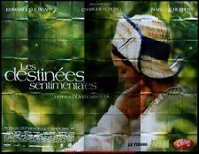DESTINEES SENTIMENTALES Affiche Cinéma GEANTE 4x3 WIDE Movie Poster