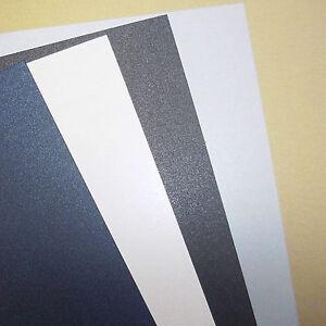 Pearl-Perlados-Perlado-De-Cartulina-240gsm-elija-el-color-cantidad-y-tamano