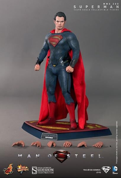 HOT TOYS MMS200 SUPERMAN MAN OF STEEL 12