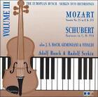 The European Busch-Serkin Duo Recordings, Vol. 3 (CD, Nov-1997, APR (Appian))