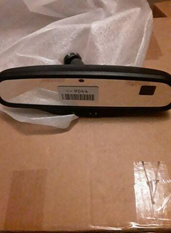 Genuine GM Mirror,Inside Rear View New New 15269044