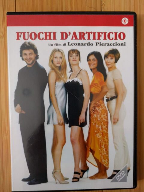 pieraccioni dvd fuochi d'artificio Italian import region 2 dvd