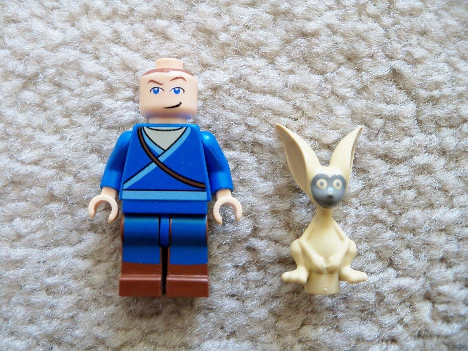 Lego Avatar The The The Last Airbender - Rare - Sokka Minifigurine & Momo Le 81e752