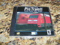 Pro Train Ii 2 Microsoft Simulator Add-on (pc, 2002) Pro-train Saxony
