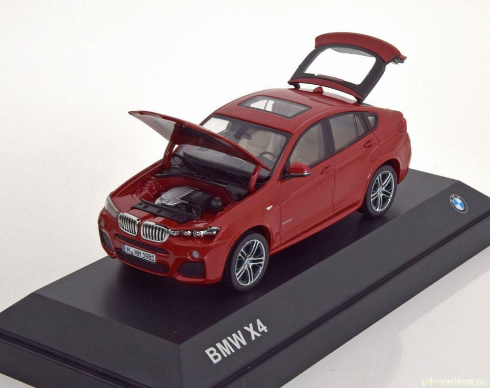 BMW X4 F26 2015 MELBOURNE rouge METAL HERPA 80422348789 1 43 rouge rouge ROUGE