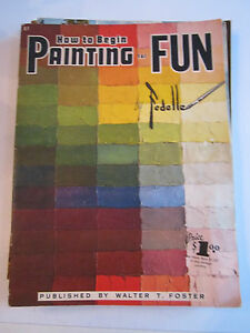 9-VINTAGE-WALTER-FOSTER-amp-OTHERS-HOW-TO-DRAW-MAGAZINES-LOT-4-BOX-AAAA