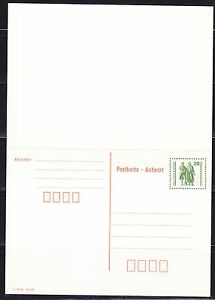 Germany-DDR-1990-FDC-post-card-Mit-Antwort-with-answer-card-Monument-memorial