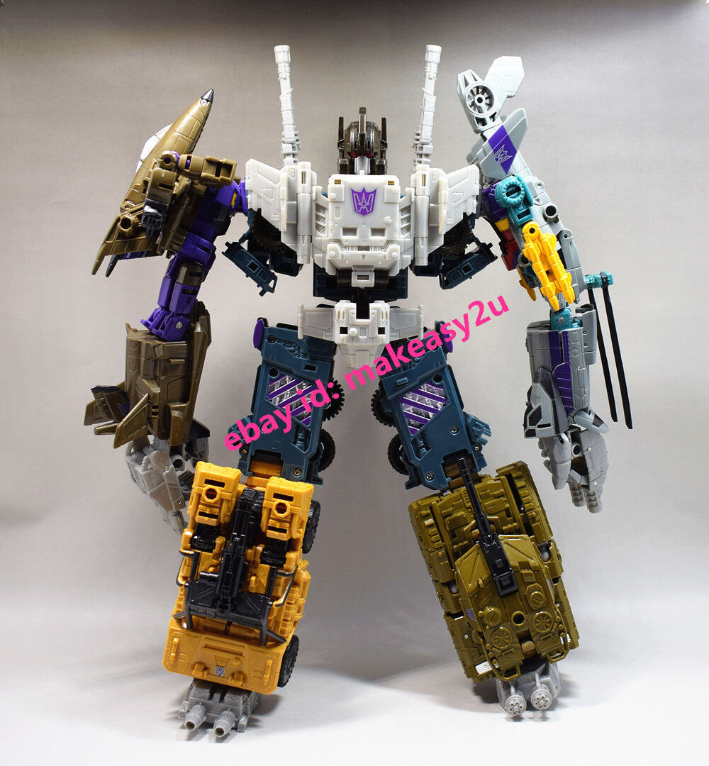 COOL CHANGE Transformers Bruticus Blast Off Brawl Combiner Wars Figure 32CM Toy