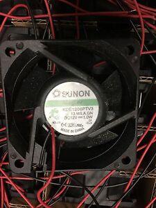 Sunon-KDE1206PTV3-Fan-12VDC-Lot-of-10