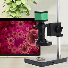 Electron Microscope Hdmi Industrial Camera Full Hd Digital Zoom 100x Lens 48mp
