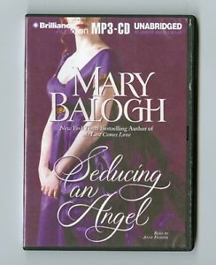 Seducing-an-Angel-by-Mary-Balogh-MP3CD-Audiobook