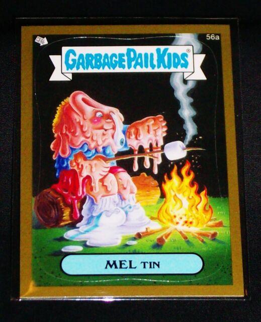 Garbage Pail Kids Mini Cards 2013 Black Parallel Base Card 122b Eerie ERIN