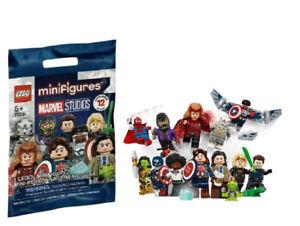 LEGO Marvel Studios Falcon Captain America Minifigure - 71031