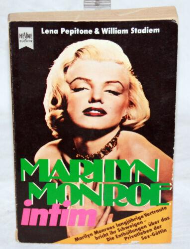 1 von 1 - MARILYN MONROE intim - Lena Pepitone / William Stadiem