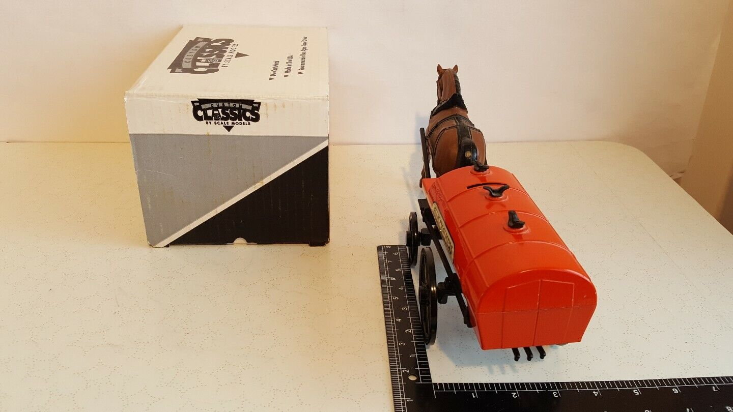 Allis Chalmers Tanker w Horse Horse Horse 1 16 diecast replica by Scale Models 132ce3