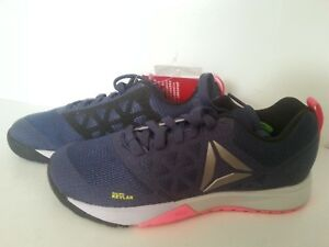 REEBOK CrossFit Nano 6.0 Training Women s Shoes Size 5 US Blue Pink ... 243ef74ab