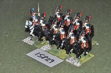 25mm napoleonic french horse grenadiers 10 cavalry (15829) painted by mac warren