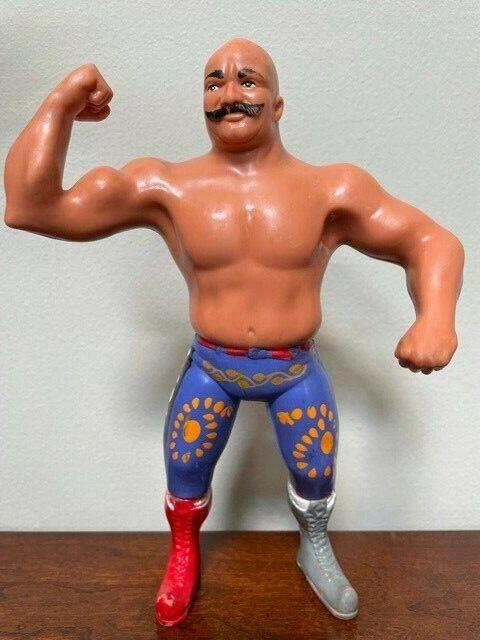 Vintage LJN Titan Sports WWF The Iron Sheik Figure--Awesome!