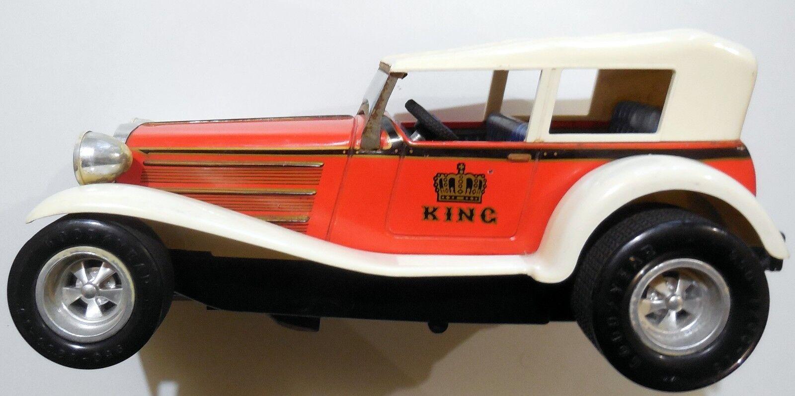 VINTAGE TOY AUTO CAR TAIYO MADE IN JAPAN KING KING SPEED 1931 SERIES 1970s
