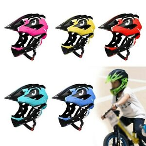Cycling Helmet Extreme Sports Full Face Protective Gear 52-56cm Bicycle