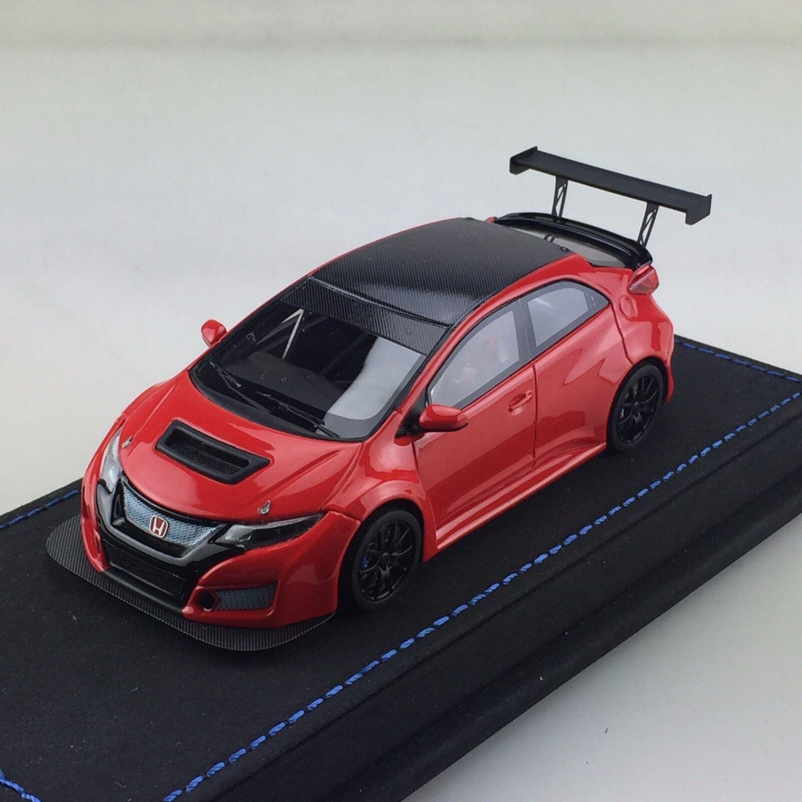 1 43 Peako Honda Civic FK2 TRC Race Test Car JAC 2017 rot Ltd 30 pcs WTCC