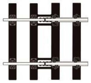 Peco-SL-713-O-Gauge-Bullhead-Flat-Bottom-Transition-Track
