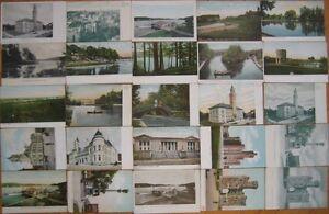 Group-of-Twenty-Five-1905-Postcards-Worcester-Mass-MA