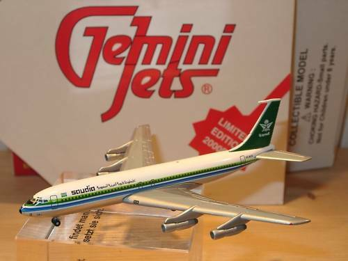 Gemini Jets Boeing 707-368 C nazis - 1 400 - Limited, RARE
