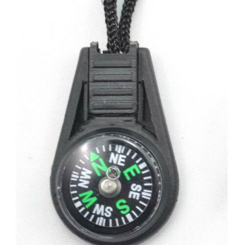 Convenient Small Creative keychain compass direction discrimination outdoor J RA