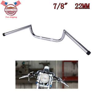 """7//8/"""" Clubman Handlebars Motorcycle Bar For Honda CB500 Cafe Racer Bobber Chopper"""